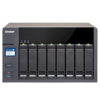 [NBB] QNAP Systems TS-831X-8G NAS 8-Bay [0/8 HDD/SSD, 2x GbE/2x 10GbE LAN, 8GB RAM]