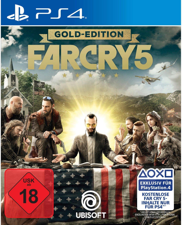 Far Cry 5 - Gold Edition (PS4) für 54,99€ oder 12 Monate PlayStation Plus für 44,99€