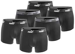 Boxershort 6er Pack Puma Herren Basic Black Limited Edition