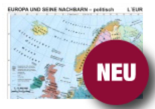 Europa und seine Nachbarn (versch. kostenlose Karten)