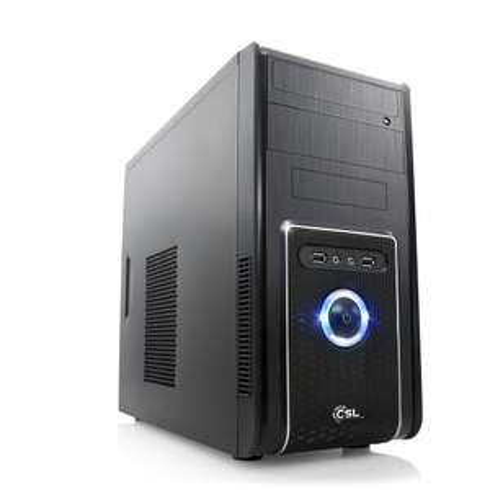 Multimedia-PC mit Ryzen 2200G, 8GB RAM, 128GB SSD + 1TB HDD für 354€ [CSL]