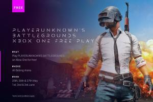 Playerunkown's Battlegrounds PUBG kostenlos spielbar: 25.-27. Mai und 1.-3. Juni [Xbox]