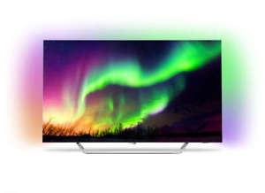 Philips 65OLED873 65''-UHD-OLED-TV mit HDR10+, 100Hz nativ und Ambilight für 2299€ [Ebay]