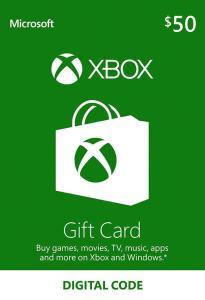 50$ USD Xbox Live Guthaben für 34,67€ (CDKeys)