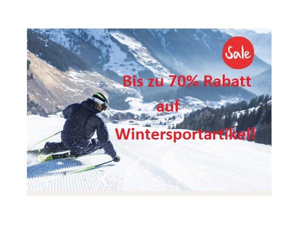 Wintersportartikel im Rausverkauf z.B. Gore-Tex Jacke