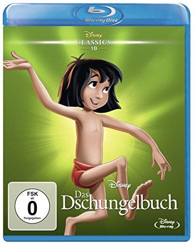 Das Dschungelbuch - Disney Classics (Blu-ray) für 7,04€ (Amazon Prime & Dodax)