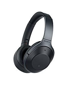 """Sony MDR-1000X kabelloser High-Resolution Kopfhörer [Amazon WHD] (Noise Cancelling, Sense Engine, NFC, Bluetooth, bis zu 20 Stunden Akkulaufzeit) schwarz """"sehr gut"""""""