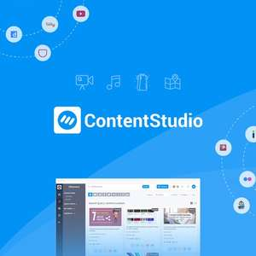 ContentStudio Lifetime Account - Social Media Marketing Programm