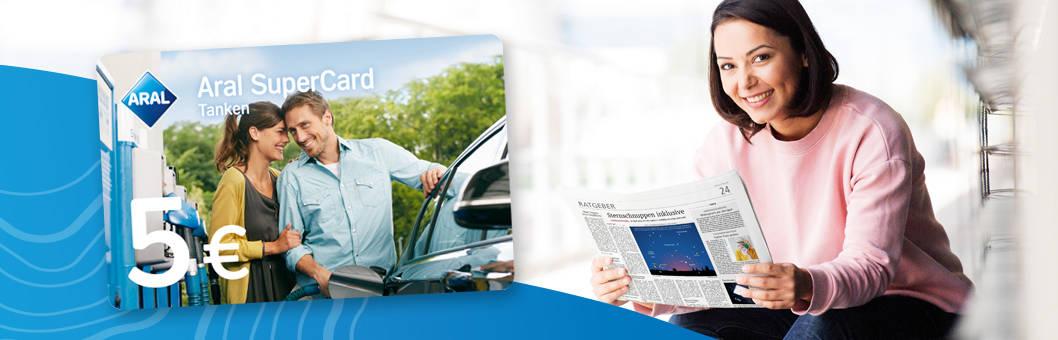 [Regional - Rhein-Main] 5 € ARAL Tankgutschein + Echo Print & Web Plus 9 Tage kostenlos und selbskündigend