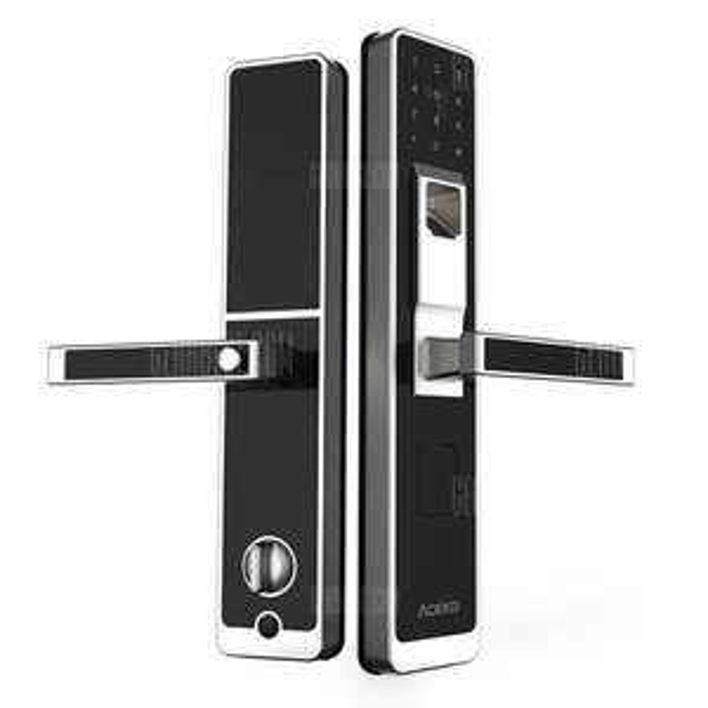 xiaomi aqara door lock mit fingerabdruck rfid und pin. Black Bedroom Furniture Sets. Home Design Ideas