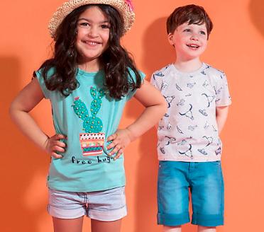 20% extra Rabatt auf Shirts und Shorts für Kinder bei [Mytoys]