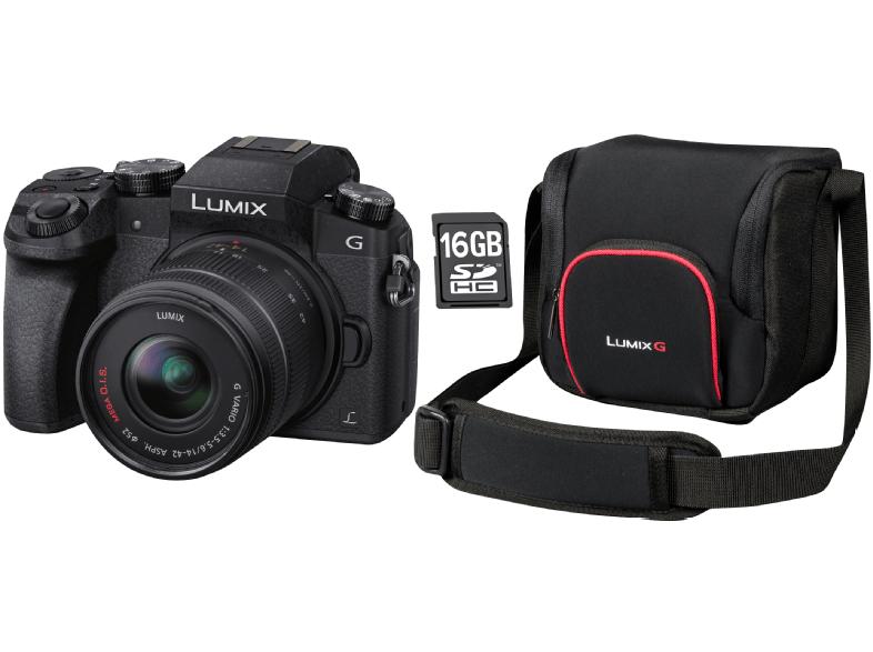 Panasonic G70 Start Systemkamera im Set mit Originaltasche und Speicherkarte - jetzt nur noch lokal im MediaMarkt Sindelfingen