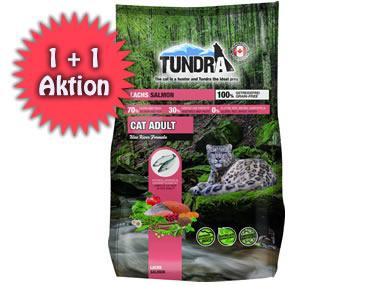 Tundra Katzen-Trockenfutter 2 für 1 Aktion
