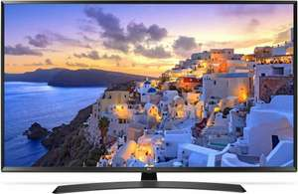 "LG 49 UJ635V Fernseher 49"" - 4K UHD, HDR10, Smart TV, PQI 1600, Triple Tuner, HDMI, USB, WLAN (Real)"
