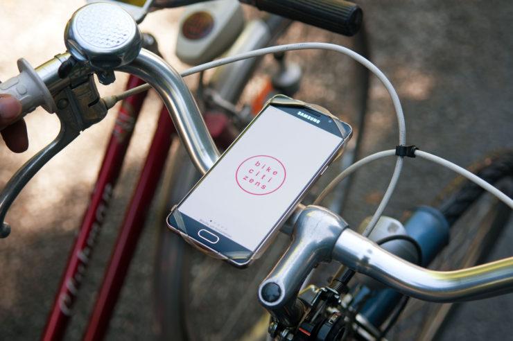 Bike Citizens App Hamburg Karte kostenlos