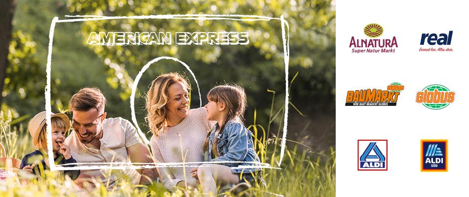 [AmEx] ExtraPunkte für Ihren Einkauf ab 25 Euro bei den teilnehmenden Partnern sichern.