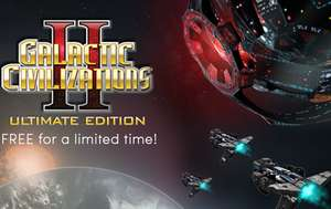 Galactic Civilizations II Ultimate Edition kostenlos [Steam] [Humble Store]