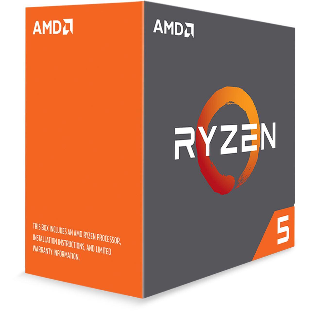 AMD Ryzen 5 1600X 6x 3,6 GHz