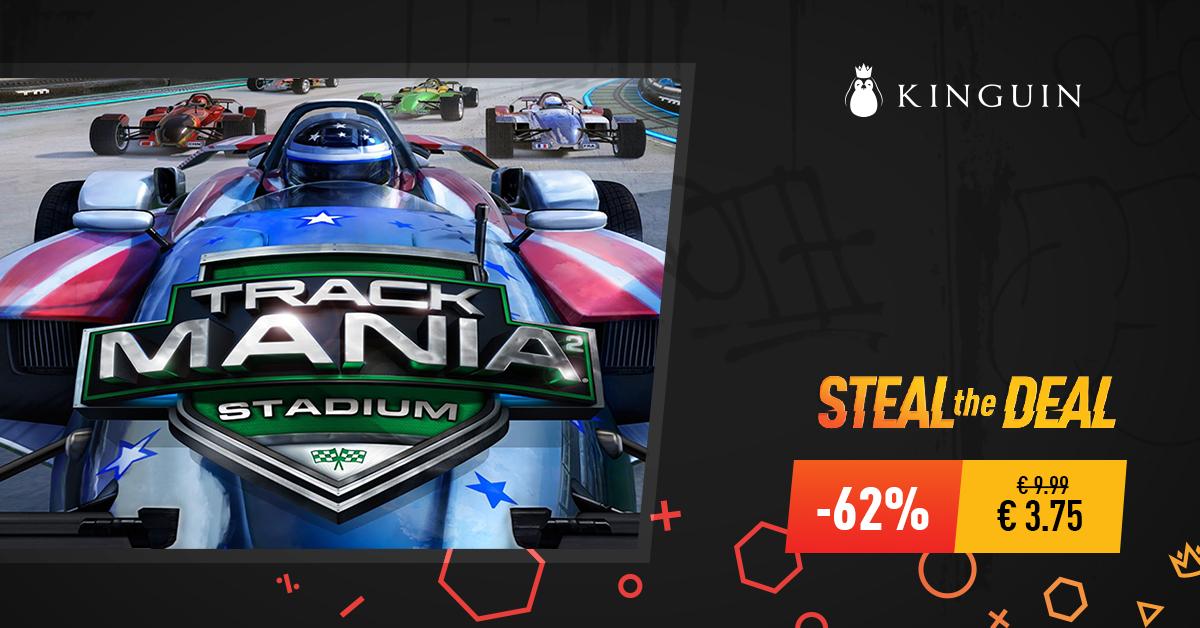TrackMania 2 Stadium (PC,Steam) für 3,75 EUR (Kinguin)