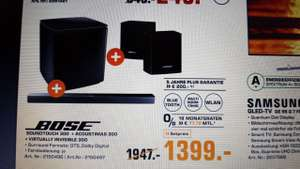 LOKAL SATURN BOCHUM Bose SoundTouch 300 - 5.1 Surround Sound Heimkino Set