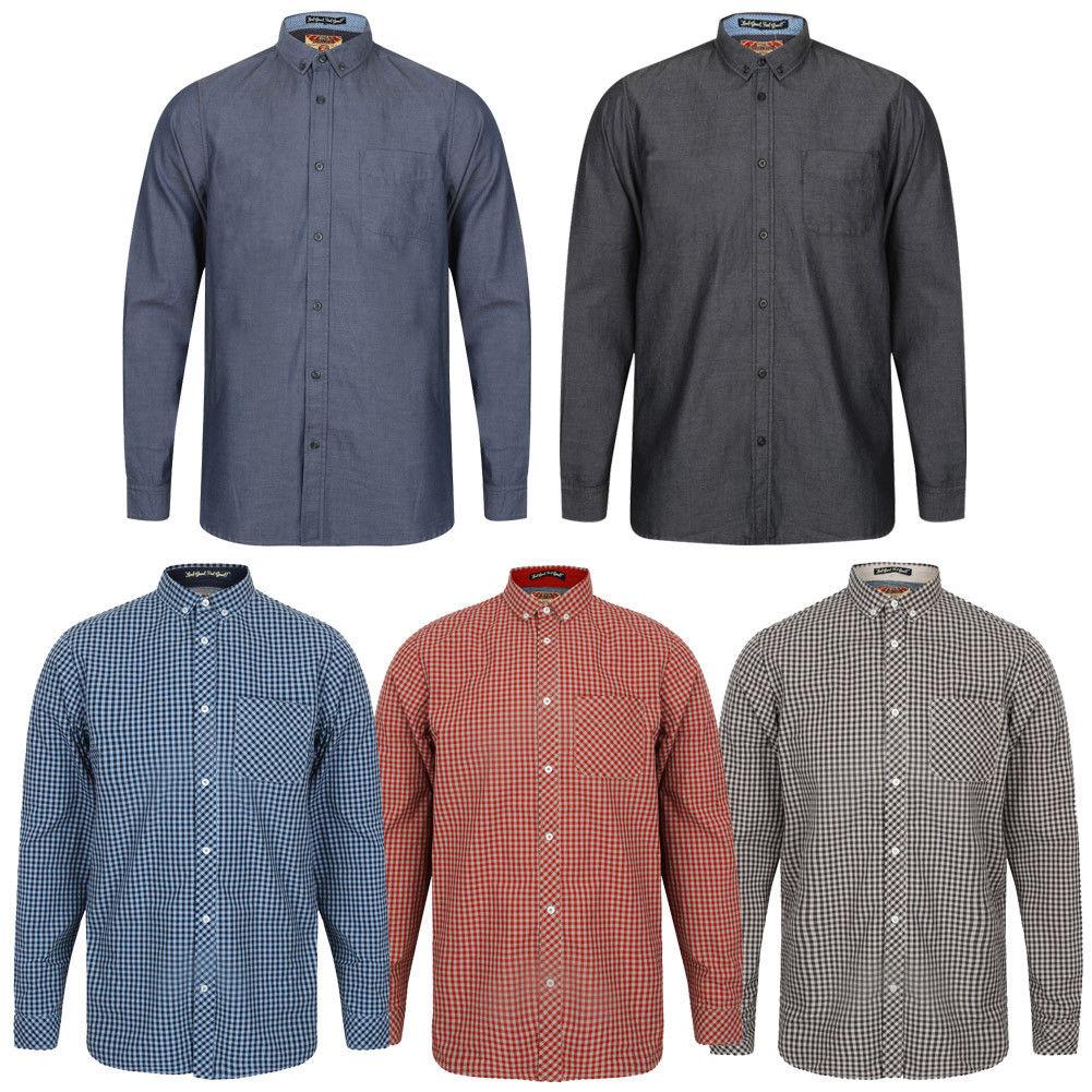 Tokyo Laundry Button Down Hemden in 5 Ausführungen für jew. 13.33€
