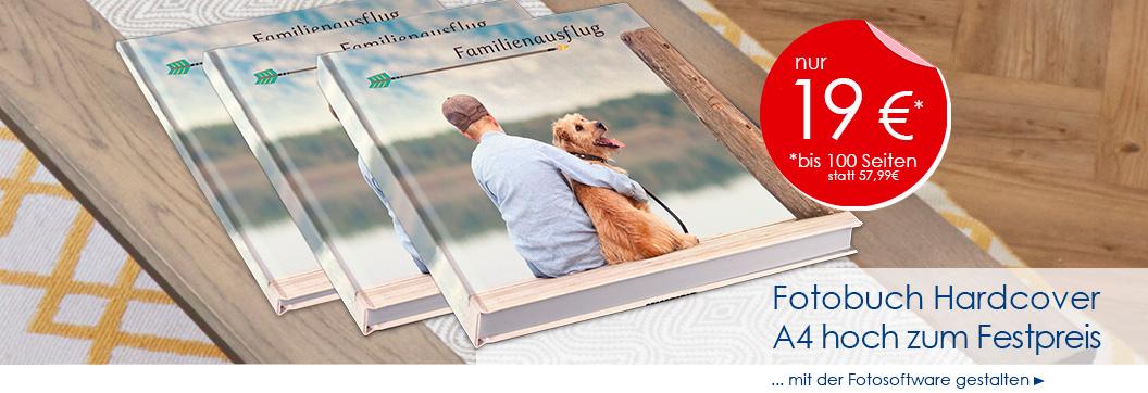 Fotobuch Hardcover A4 bis 100 Seiten [Fotoquelle]