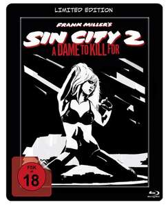 Sin City 2 - A Dame To Kill For - Steelbook (Blu-ray) und weitere Blu-Ray Steelbooks für 4,99€ (Müller)