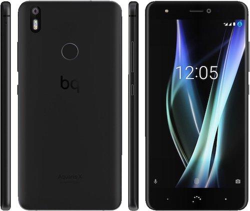 BQ Aquaris X 32GB schwarz