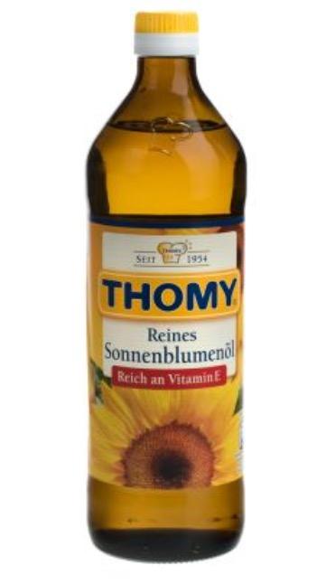 [Penny] Thomy Sonnenblumenöl am nächsten Wochenende für 1,19€ kaufen und 50 Paybackpunkte bekommen