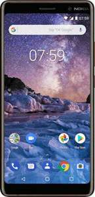 "Nokia 7 Plus Smartphone 6"" (2018) - FHD+ IPS, Snapdragon 660, RAM 4 GB, ROM 64 GB, schwarz (Amazon.it)"