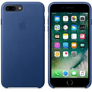 Original Apple iPhone 7 / 8 Plus Leder Saphir