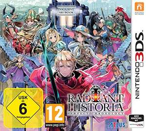 [amazon.de] Radiant Historia: Perfect Chronology - Nintendo 3DS - 31,99 €