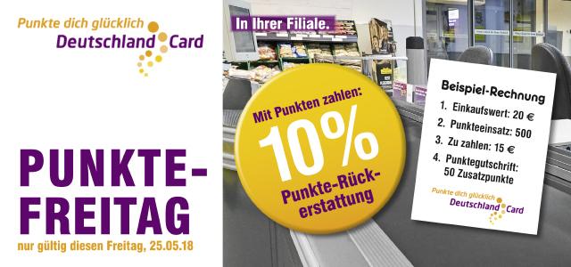 [Netto MD] Deutschlandcard 10% Punkte-Rückerstattung am 25.05.18