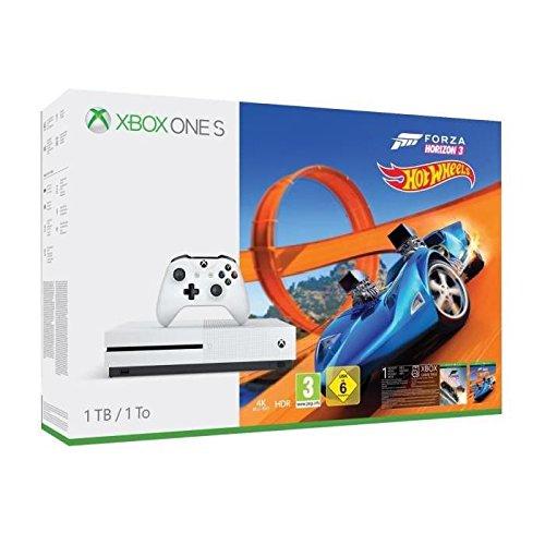 Xbox One S (1TB) inkl. Forza Horizon 3 + Hot Wheels DLC Bundle für 205,37€ (Amazon FR)