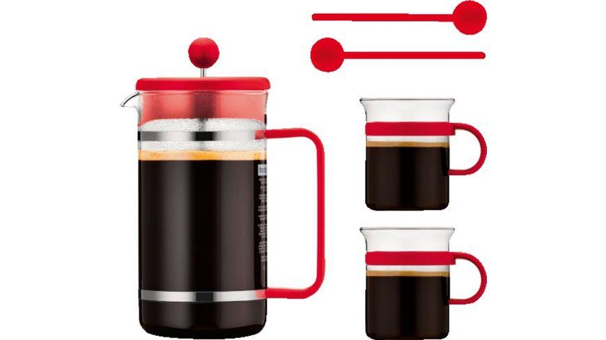 Bodum Kaffeeset - Zubereiter plus 2 Tassen für 10€ @ Müller Online (Lieferung Filiale)