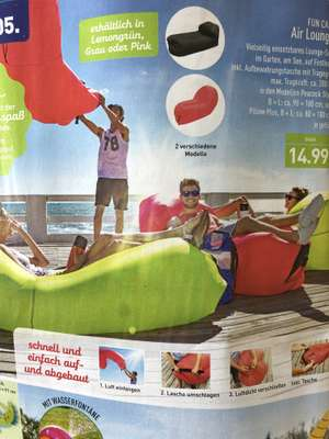ALDI NORD - Air Lounger(Laybag)