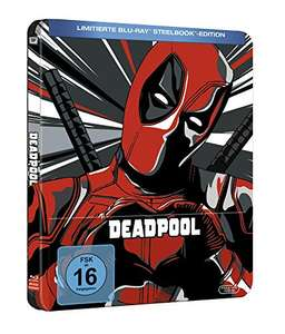 (Amazon Prime) Deadpool Steelbook Blu-ray [Limited Edition] für 14,99 EUR