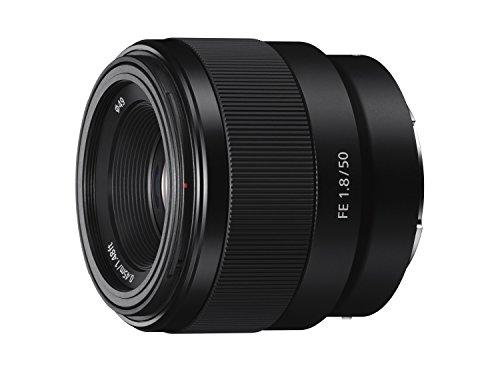 Sony 50mm [SEL50F18] E-Mount Autofokus Vollformat APS-C für Sony Alpha 7 Serie und Alpha 6000 Serie