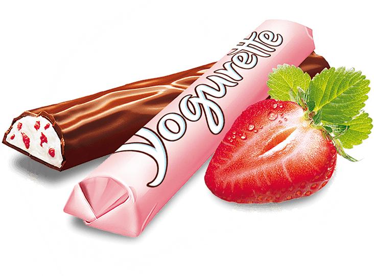 Ferrero Yogurette Erdbeere 125g für 0,74€ durch Couponplatz Coupon bei REWE [Ab 22.5.18]