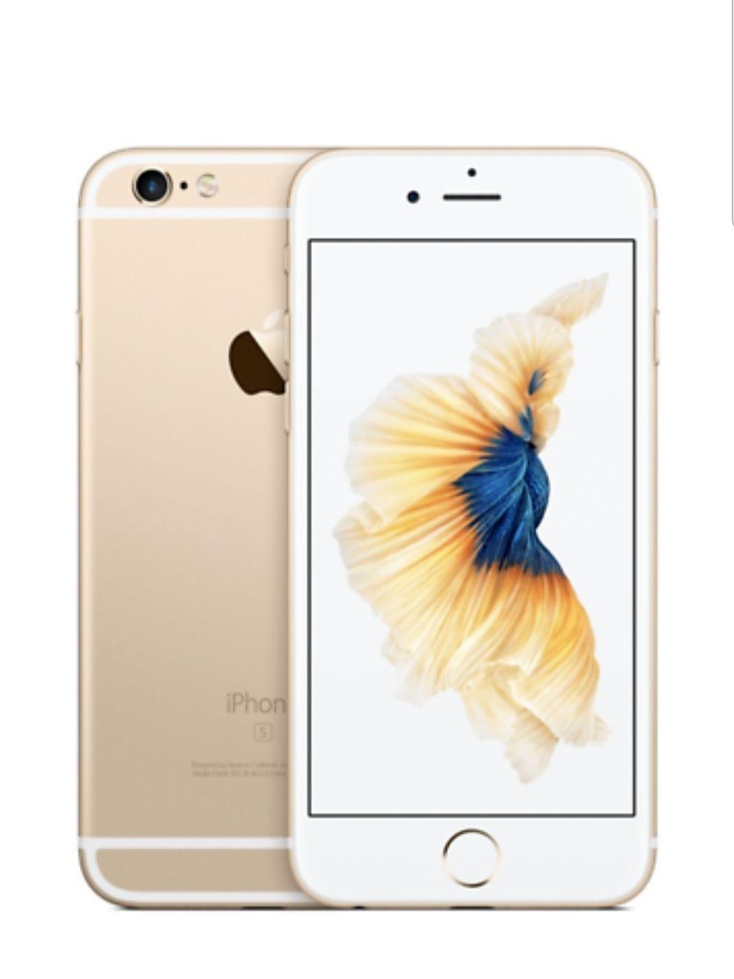 Apple iPhone 6S - 32GB - Gold (Ohne Simlock/Branding) - @Ebay, dt. Händler, Neu, bulk