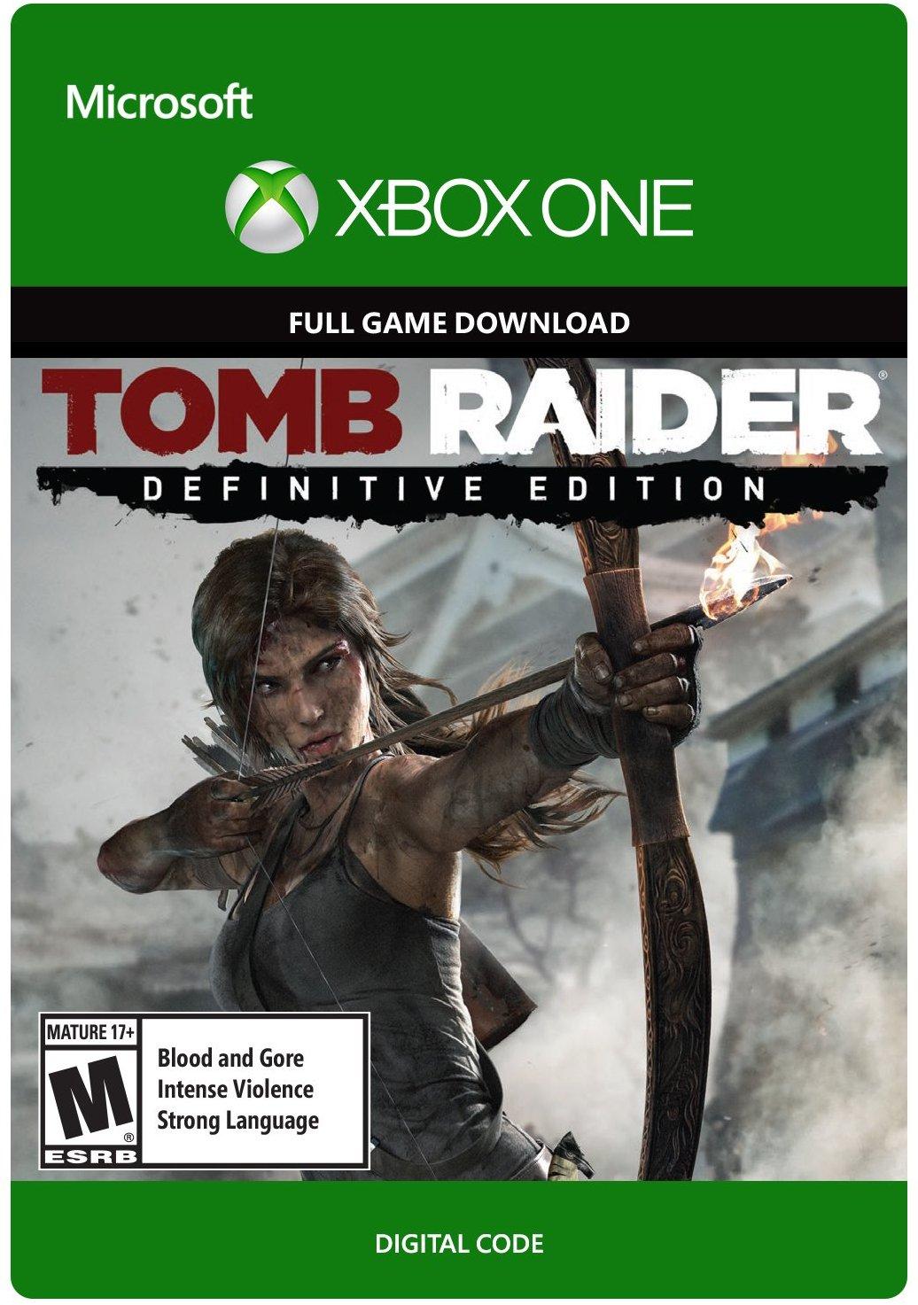Tomb Raider Definitive Edition (Xbox One Digital Code) für 5,41€ (CDKeys)