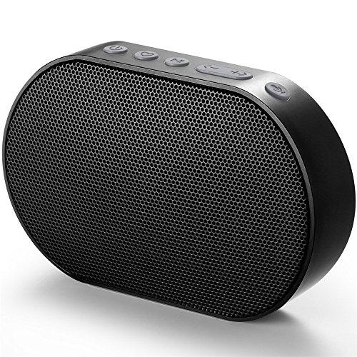 [Amazon] Mini WLAN & Bluetooth Lautsprecher mit Alexa Funktion, Airplay, Anbindung an Spotify, Tidal, bis zu 15 Stunden Spielzeit in Schwarz, Pink oder Weiß
