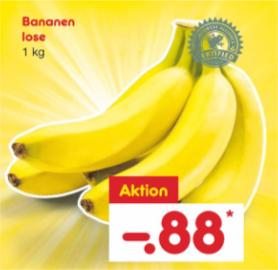 [NETTO MD ab 22.05.2018] 1 kg Bananen für 88 Cent