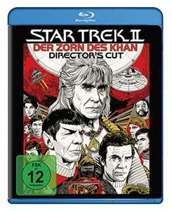 Star Trek 2 - Der Zorn des Khan Director's Cut (Blu-ray) für 4,43€ (Amazon Prime & Dodax)