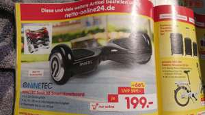 Hoverboard Ninetec Sonic x6