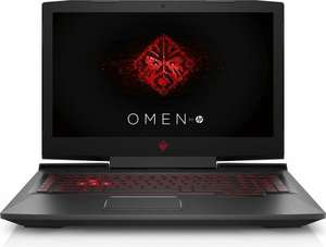 "Notebook 15.6"" HP OMEN - Full HD IPS 120 Hz G-SYNC, i5-7300HQ, RAM 8 GB, SSD PCIe 128 GB, HDD 1 TB, GTX 1060 6 GB, Thunderbolt 3 (Amazon.fr)"