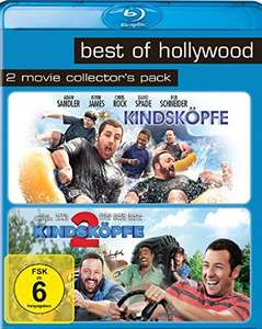 Kindsköpfe 1 & 2 Best of Hollywood Collection (2 Disc Blu-ray) für 5,73€ (Amazon Prime)