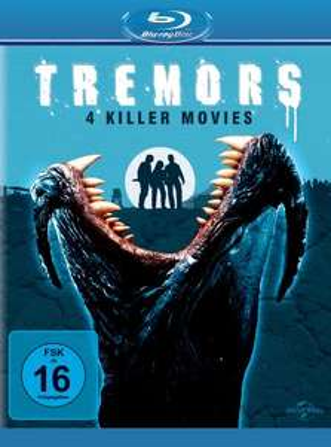 [Blu-ray] Tremors 1-4 [Amazon Prime]