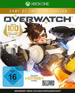 Overwatch - Game Of The Year Edition (Xbox One & PS4 & PC) für je 19,99€ (Amazon Prime & Saturn & Media Markt)