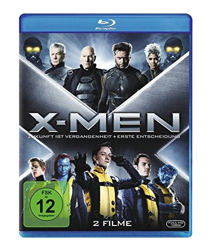 X-Men Doppelbox: Erste Entscheidung + Zukunft ist Vergangenheit (2x Blu-ray) für 5,94€ (Amazon Prime)
